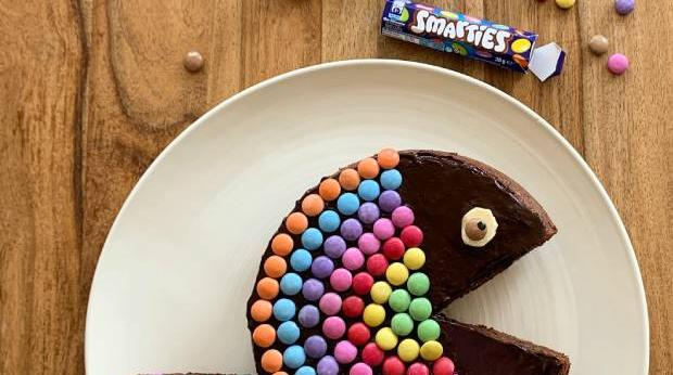 Peixe de Chocolate e Smarties