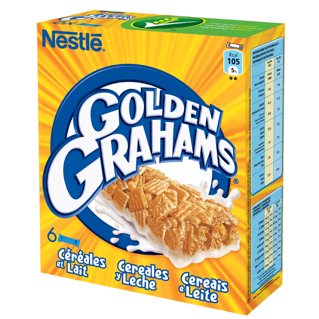 Barra de Cereais Golden Grahams