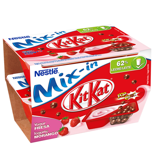 Mix-in KitKat Morango