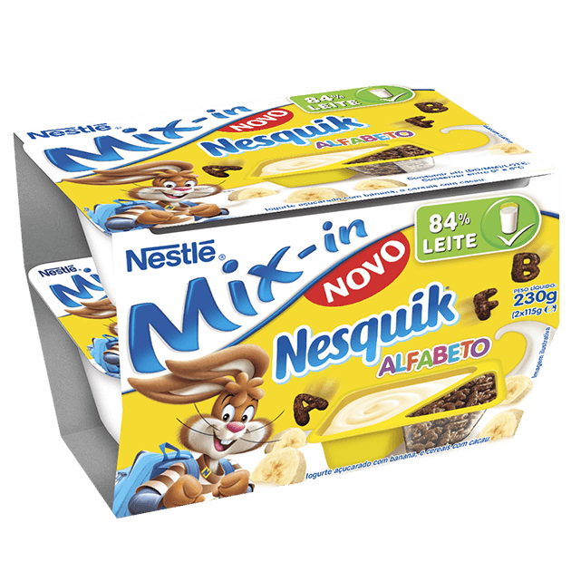 Mix-in Nesquik Alfabeto