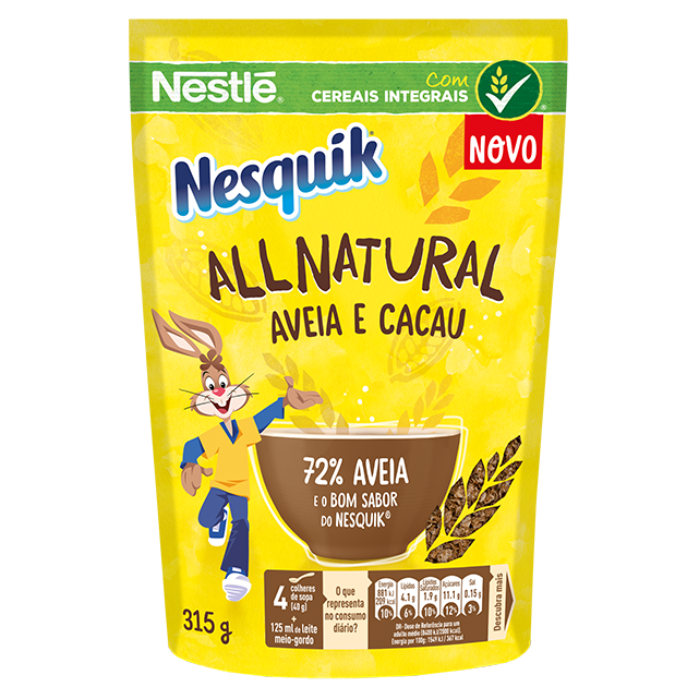 Nesquik Aveia e Cacau All Natural