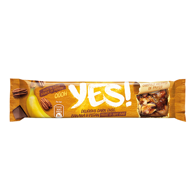Snack YES! Noz Pecan e Banana