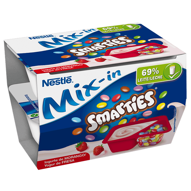 Mix-in Smarties Morango