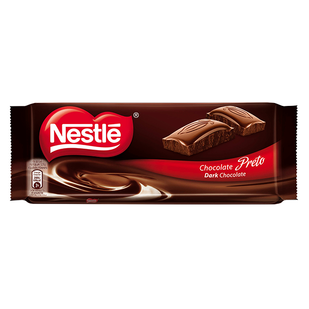 Tablete Nestlé Chocolate Preto