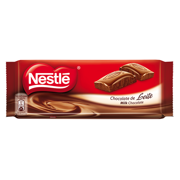 Tablete Nestlé Chocolate de Leite
