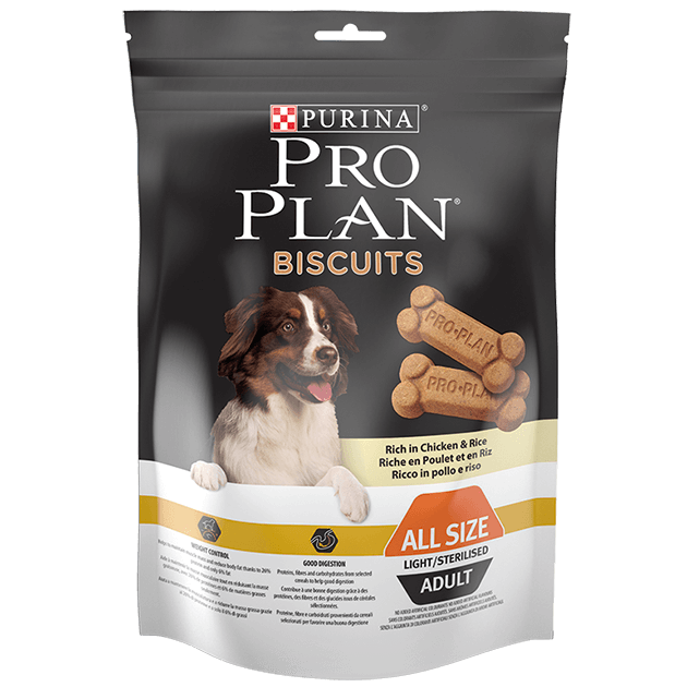Pro Plan Biscoito Light Frango & Arroz