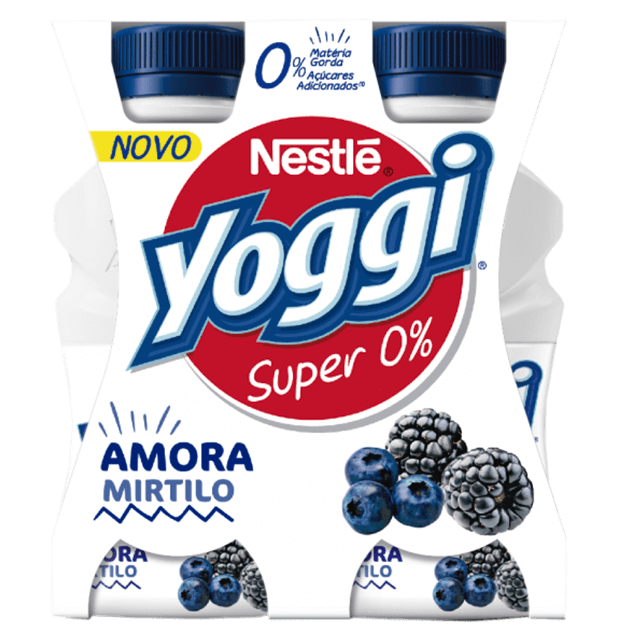 Yoggi Super 0% Amora e Mirtilo