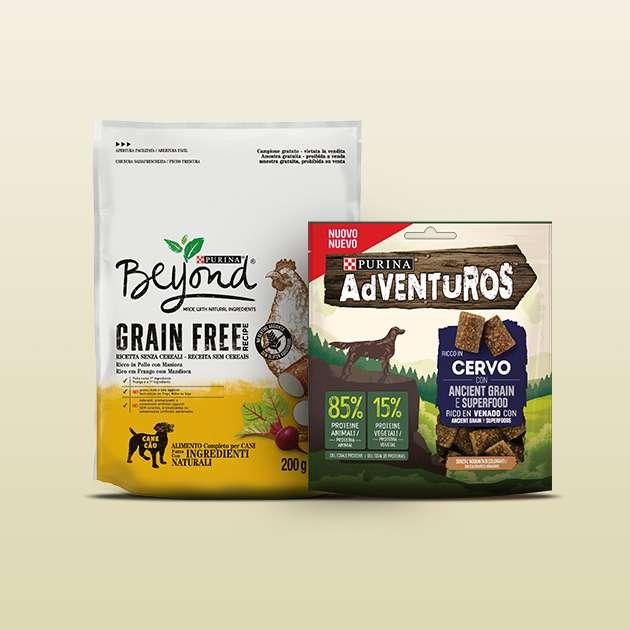 BEYOND® Grain Free  PURINA® AdVENTuROS™