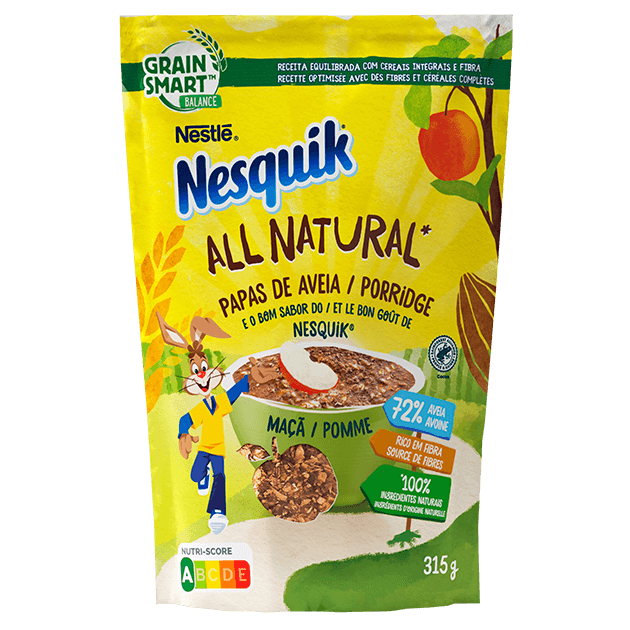 Nesquik Aveia Cacau e Maçã All Natural